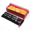AKStore Crystal Glass Pleasure Wand - Pink Bear with box