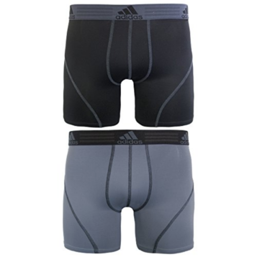 Adidas Mens Sport Performance Climalite Boxer Briefs