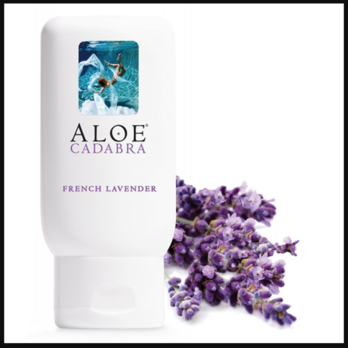 Aloe Cadabra Natural Personal Lubricant French Lavender