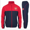 Arsenal FC Official Soccer Jacket and Pants Tracksuit Set