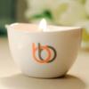 Burn & Bliss Soy Wax Massage Oil Candle - Peppermint & Eucalyptus