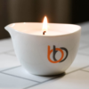 Burn & Bliss Soy Wax Massage Oil Candle - Soothing Lotus