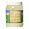 Carrington Farms Organic Extra Virgin Coconut Oil jar back