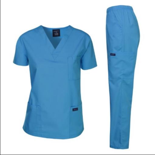 Dagacci Medical Uniform Women and Man Scrubs Set