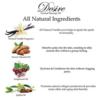 Desire Sensual Massage Oil natural ingredients