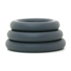 Doc Johnson OptiMALE Thick 3 C-Ring Set stacked