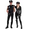 Dreamgirl Men's Dirt Cop Officer Ed Banger Costume couple
