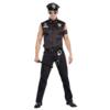 Dreamgirl Men's Dirt Cop Officer Ed Banger Costume full body