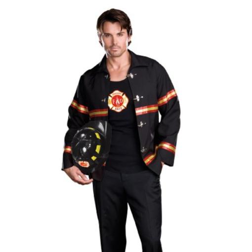 Dreamgirl Men's Smoking Hot Fireman Costume