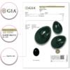Genuine Jade Yoni Eggs certificate