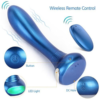 IMO USB Rechargeable Vibrating Anal Plug with wireless remote control