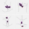 IMO Vibrating G-spot Rabbit Massager uses