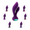 IMO Vibrating G-spot Rabbit Massager with colored lights