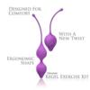 IntiFit Premium Kegel Exercise Weight Training Set design