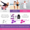 IntiFit Premium Kegel Exercise Weight Training Set with guide book