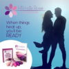 Intimate Rose Kegel Exercise Weights ready