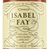 Isabel Fay Water Based Personal Lubricant label