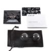 LELO Luna Beads Noir Luxury Ben Wa Balls box contents