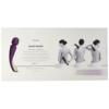 LELO SMART WAND Cordless Body Massager box back