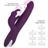 LOUVIVA Dual Motor Wireless Rabbit Vibrator vibration modes