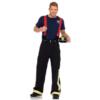 Leg Avenue Men's 3 Piece Fire Captain Costume full