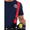 Leg Avenue Men's 3 Piece Fire Captain Costume shoulder