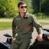 Leg Avenue Men's Top Gun Flight Suit Costume in situ