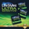LifeStyles Ultra Sensitive Condoms 40 Ct singles