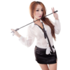 Lingeriecats Sexy Haughty Office Secretary Costume with crop
