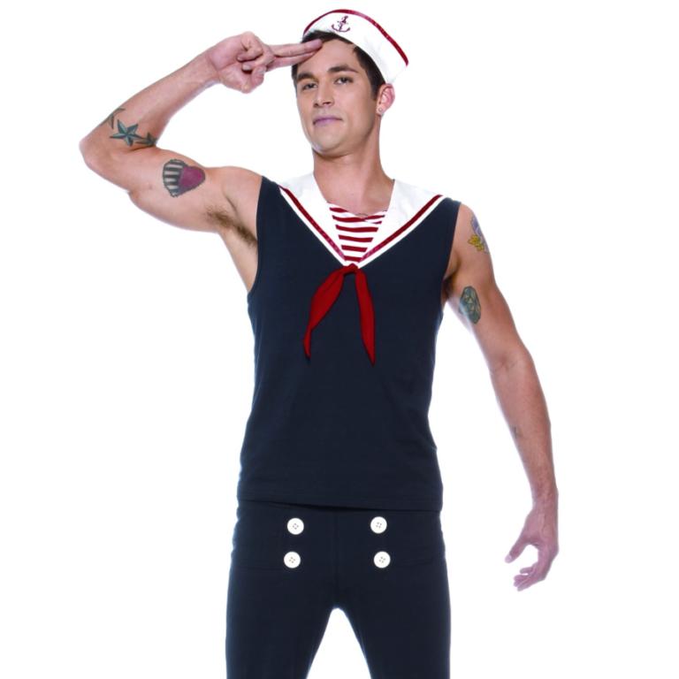 Lip Service Sexy Deckhand Sailor Costume
