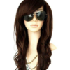 MelodySusie Dark Brown Curly Wig