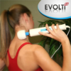 Multi-Speed Corded Electric Wand Massager in use
