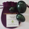 Nephrite Jade Drilled Yoni Eggs