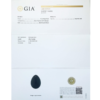 Nephrite Jade Drilled Yoni Eggs certificate