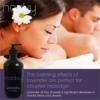 Nooky Lavender Massage Oil for couples massage