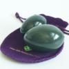 Polar Jade Nephrite Jade Eggs 2 Pcs Set