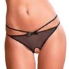 Rene Rofe Women's Crotchless Femme Fatale Panty closeup