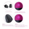 SEXY SLAVE Waterproof 10x Rechargeable Wireless Remote Bullet Vibrator works