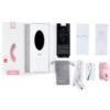 SVAKOM Echo Clitoral Vibrator Pale Pink box contents