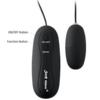 Sexy Slave Wired Remote Control Bullet Vibrators black