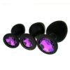 Silicone Jeweled Anal Butt Plug Trainer Set