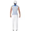 Smiffy's Men's Male Sailor Costume back