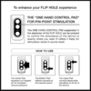 TENGA FLIP HOLE Black Male Masturbator pin point stimulation