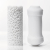 TENGA PILE 3D Sleeve Male Masturbator in and out