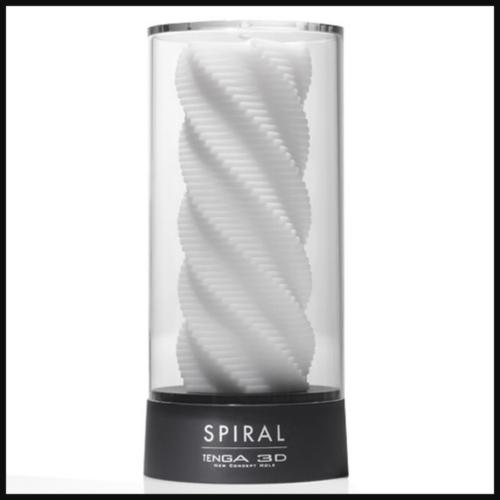 TENGA SPIRAL 3D Sleeve Male Masturbator in box