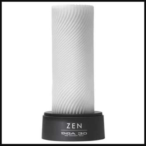 TENGA ZEN 3D Sensual Sleeve Male Masturbator on bottom