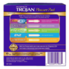 TROJAN Pleasure Pack Condoms 100 count back of box