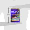 TROJAN Pleasure Pack Condoms 100 count box size