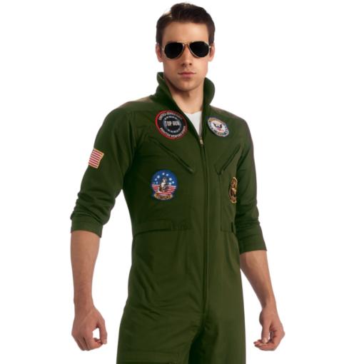 Top Gun Secret Wishes Flight Suit Costume closeup