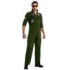 Top Gun Secret Wishes Flight Suit Costume full body